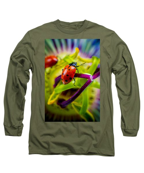 Look At The Colors Over There. Long Sleeve T-Shirt