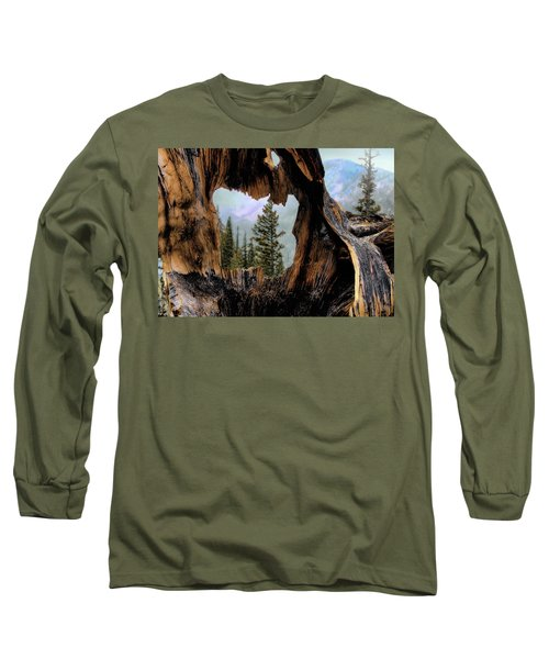 Look Into The Heart Long Sleeve T-Shirt by Jim Hill