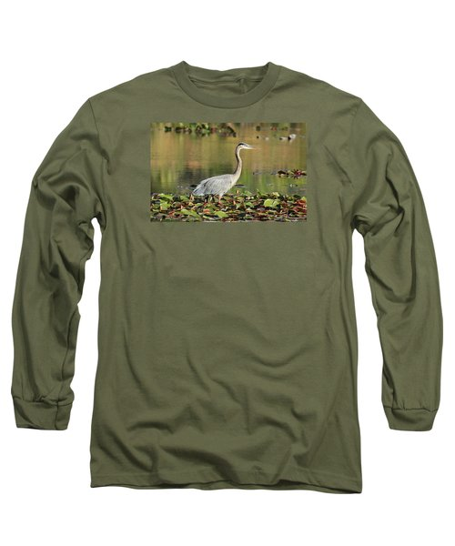 Long Sleeve T-Shirt featuring the photograph Looking Ahead by Lynn Hopwood