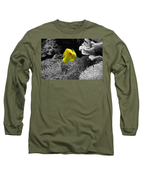 Long Sleeve T-Shirt featuring the photograph Looking At You by Deniece Platt