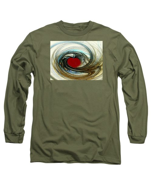 Looking Deep Into Your Heart Long Sleeve T-Shirt by Merton Allen