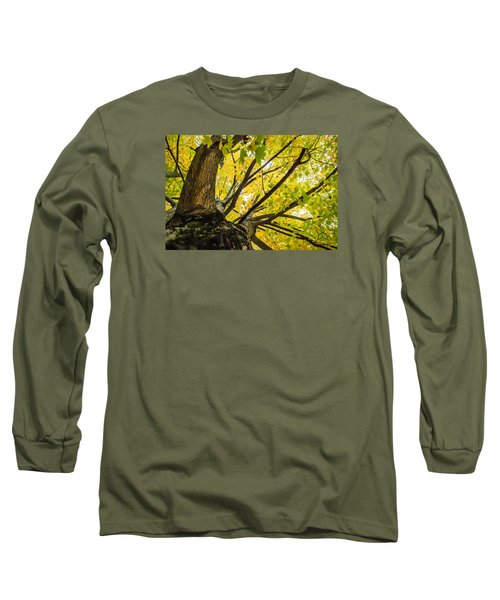 Looking Up - 9676 Long Sleeve T-Shirt by G L Sarti