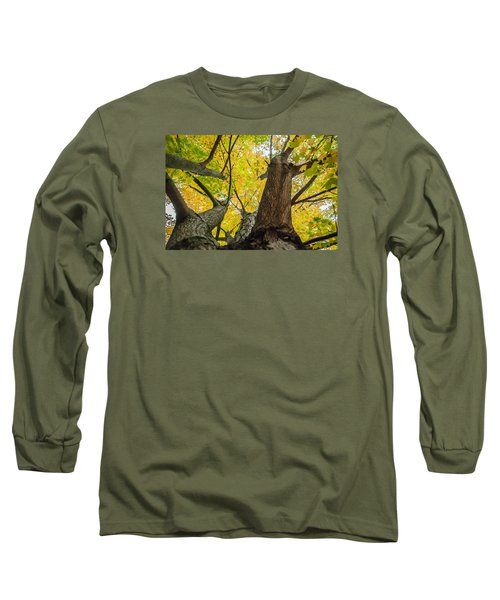 Looking Up - 9682 Long Sleeve T-Shirt by G L Sarti