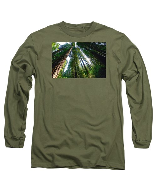 Long Sleeve T-Shirt featuring the photograph Looking Up by Lynn Hopwood