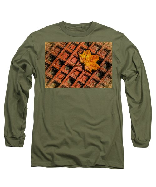 Looks Like Another Leaf Long Sleeve T-Shirt by Paul Wear