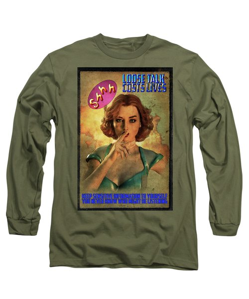Loose Talk Long Sleeve T-Shirt