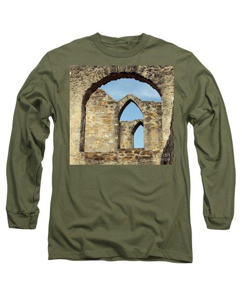 Los Arcos De La Mision San Jose Long Sleeve T-Shirt