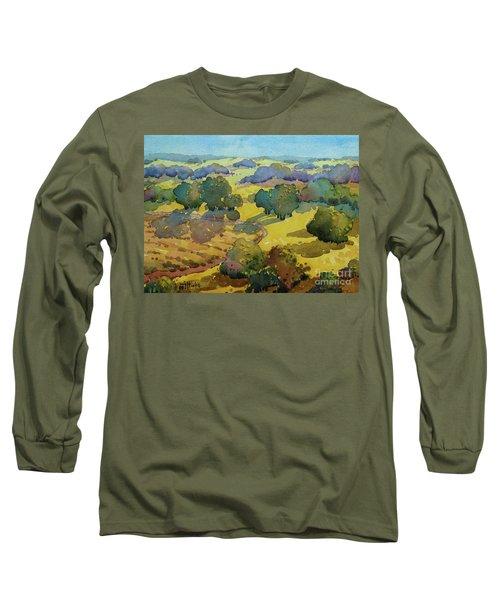 Los Olivos Impression Long Sleeve T-Shirt