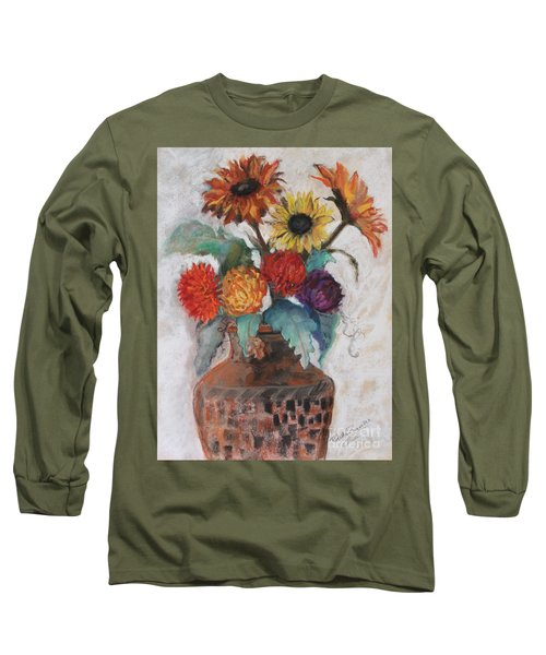 Lost And Found Long Sleeve T-Shirt by Robin Maria Pedrero