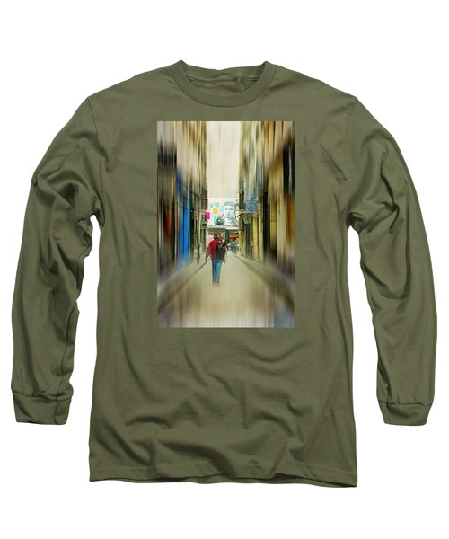 Lost In The Maze Of The City Long Sleeve T-Shirt