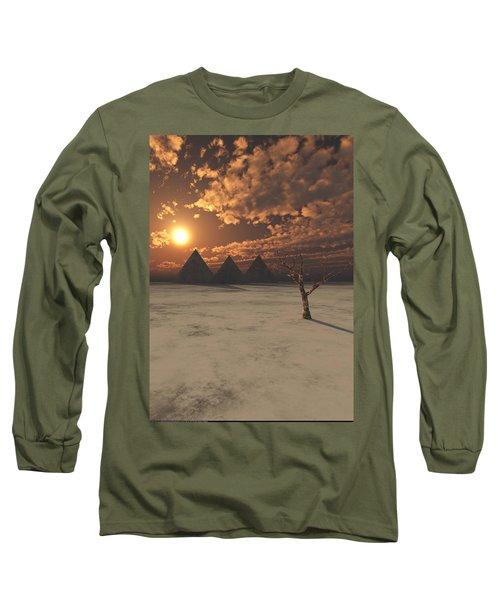 Lost Pyramids Long Sleeve T-Shirt