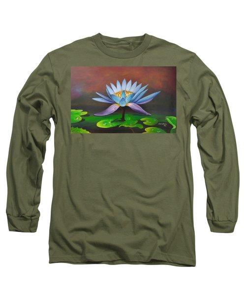 Lotus Blossom Long Sleeve T-Shirt