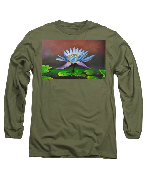 Lotus Blossom Long Sleeve T-Shirt