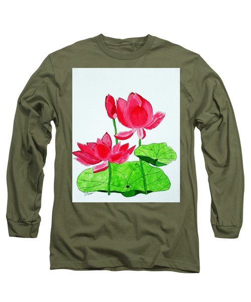 Lotus Flower Long Sleeve T-Shirt