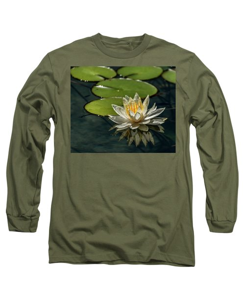 Lotus Long Sleeve T-Shirt by Martina Thompson