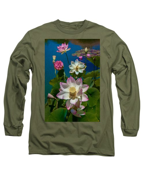 Lotus Pool Long Sleeve T-Shirt