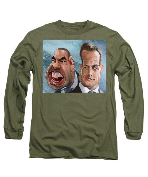 Louis And Harvey Long Sleeve T-Shirt
