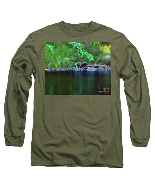Louisiana Swimming Instructor  Long Sleeve T-Shirt