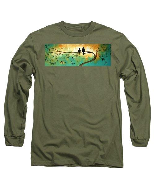 Love Birds By Madart Long Sleeve T-Shirt