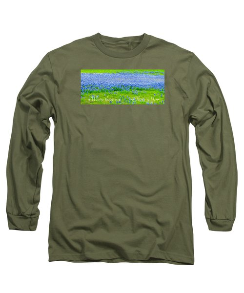Love Long Sleeve T-Shirt by David Norman