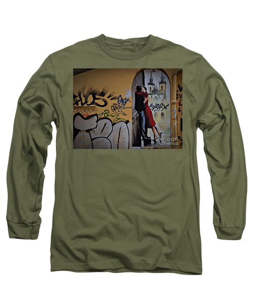 Love Is Everywhere Long Sleeve T-Shirt by AmaS Art