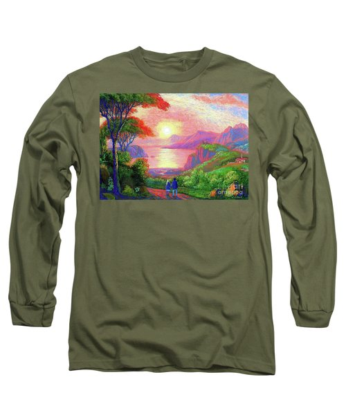 Love Is Sharing The Journey Long Sleeve T-Shirt