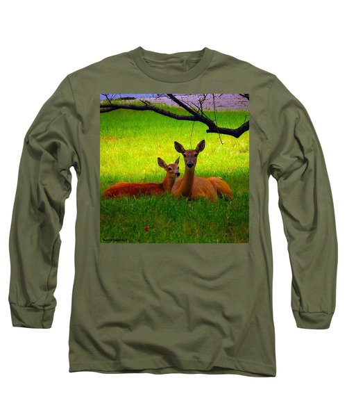 #love It When These Two Are On My Front Long Sleeve T-Shirt