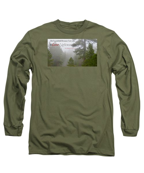 Long Sleeve T-Shirt featuring the photograph Love Light by David Norman