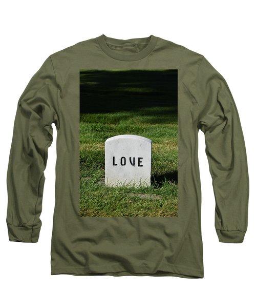 Love Monument Long Sleeve T-Shirt