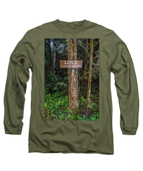Love On A Tree Long Sleeve T-Shirt by Josy Cue