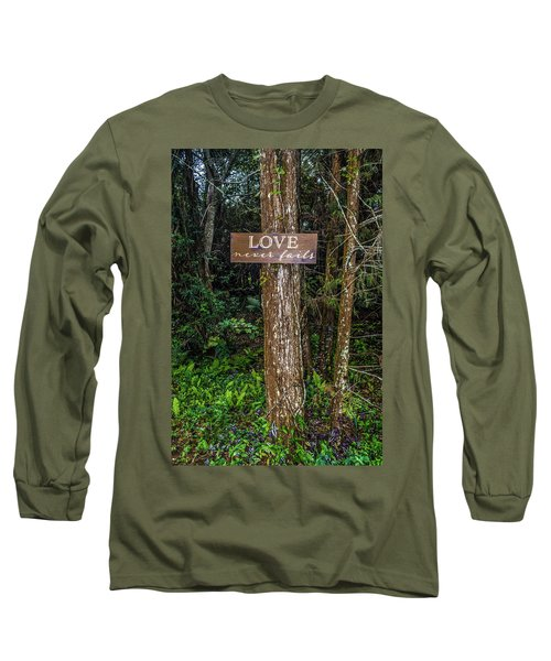 Love On A Tree Long Sleeve T-Shirt