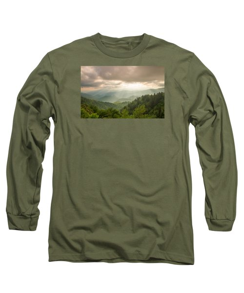 Long Sleeve T-Shirt featuring the photograph Love Shines Down by Doug McPherson
