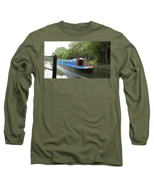 Loved-up On A Canal Boat - Park Royal Long Sleeve T-Shirt by Mudiama Kammoh