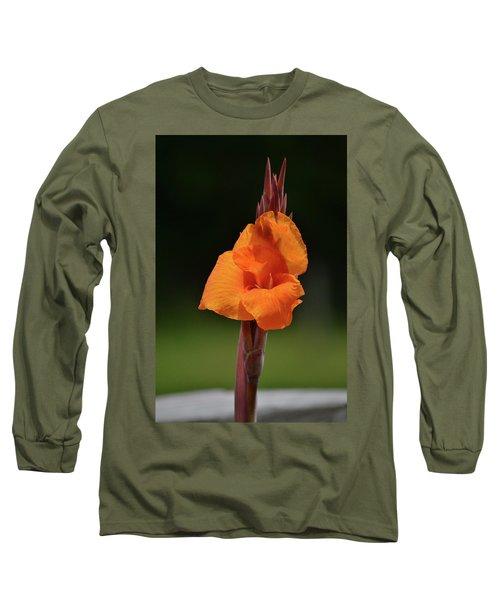 Lovely Iris Flower Long Sleeve T-Shirt