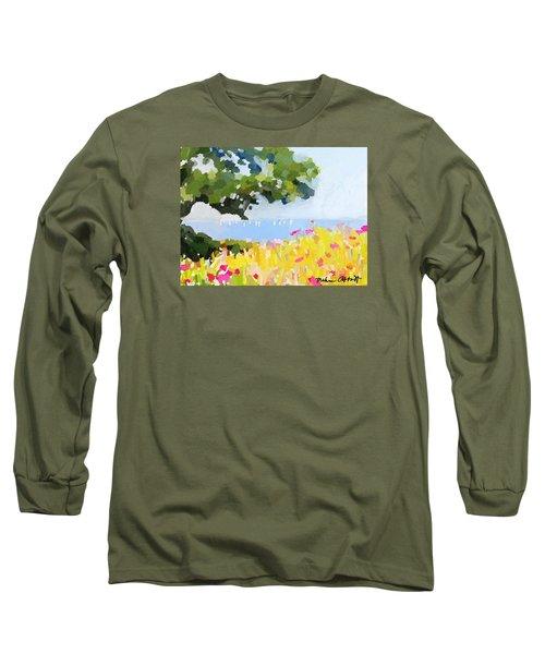 Lover's Lane, Rockport, Ma Long Sleeve T-Shirt