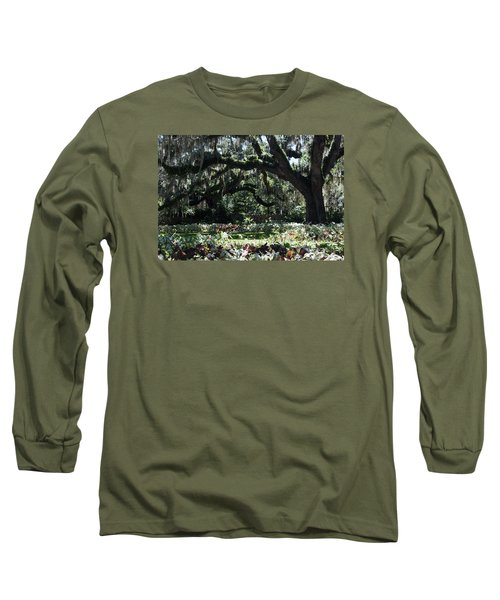 Long Sleeve T-Shirt featuring the photograph Low Country Series I by Suzanne Gaff