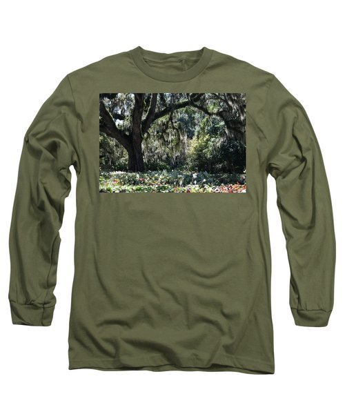 Long Sleeve T-Shirt featuring the photograph Low Country Series II by Suzanne Gaff
