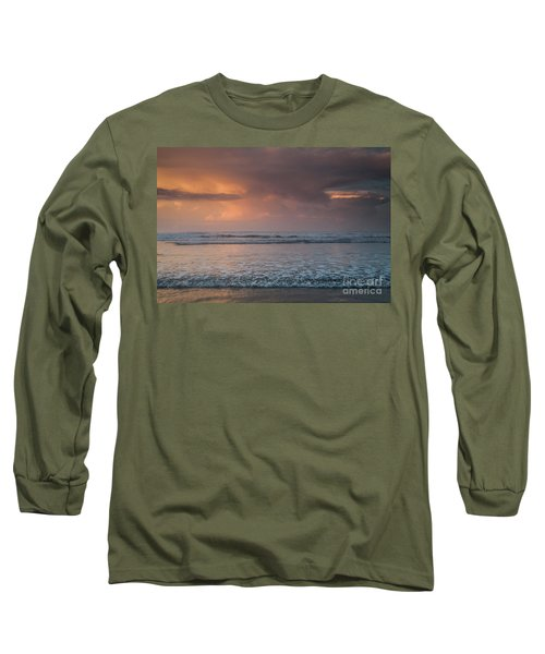 Low Tide  Long Sleeve T-Shirt by Iris Greenwell