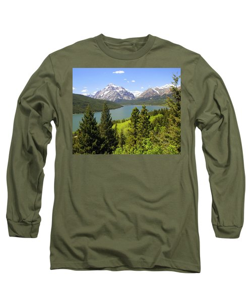 Lower Two Medicine Lake Long Sleeve T-Shirt
