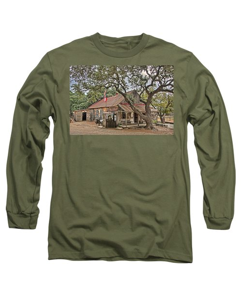 Luckenbach Post Office And General Store_1 Long Sleeve T-Shirt