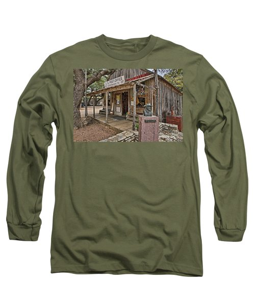 Luckenbach Post Office And General Store_2 Long Sleeve T-Shirt