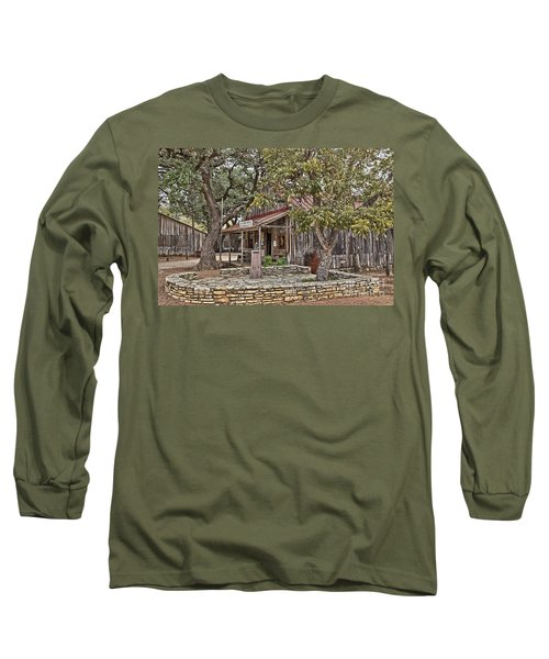 Luckenbach Post Office And General Store_3 Long Sleeve T-Shirt