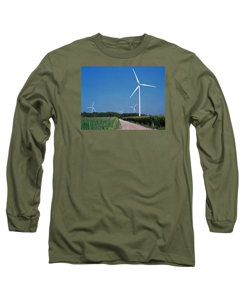 Ludington Wind Farm Long Sleeve T-Shirt