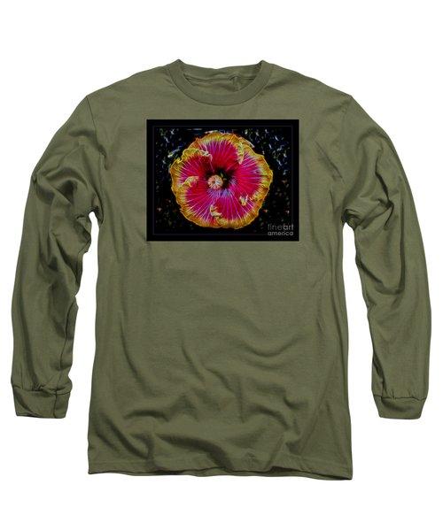 Luminous Bloom Long Sleeve T-Shirt