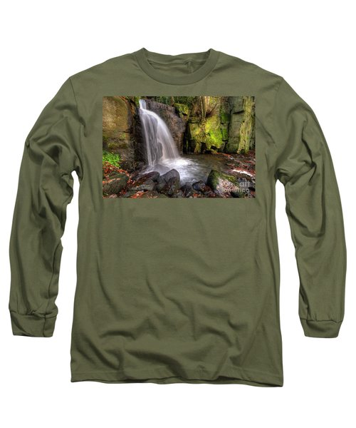 Long Sleeve T-Shirt featuring the photograph Lumsdale Falls 3.0 by Yhun Suarez