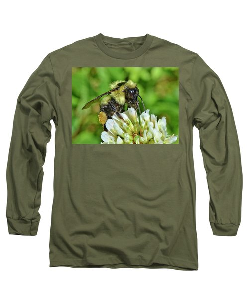 Lunch In The Garden Long Sleeve T-Shirt by Ludwig Keck