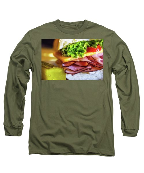 Lunch Is Served Long Sleeve T-Shirt