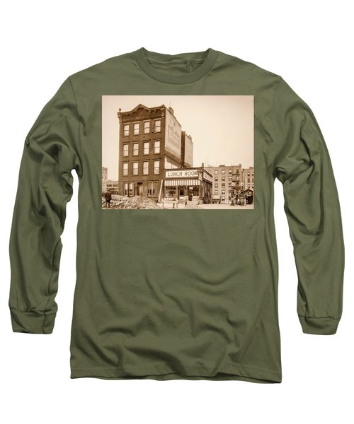 Long Sleeve T-Shirt featuring the photograph Lunchroom  by Cole Thompson