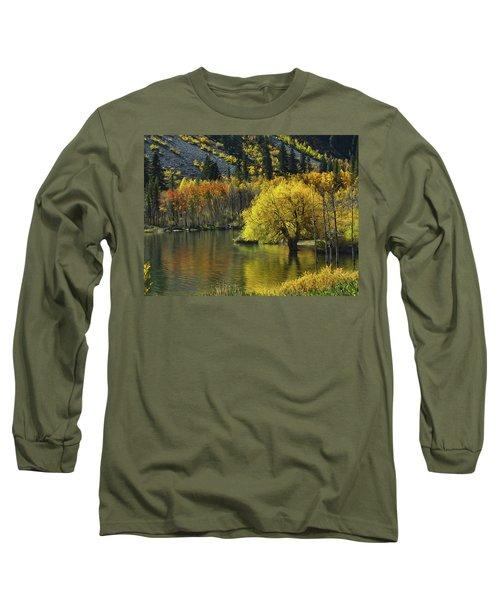 Lundy Lake Beauty Long Sleeve T-Shirt