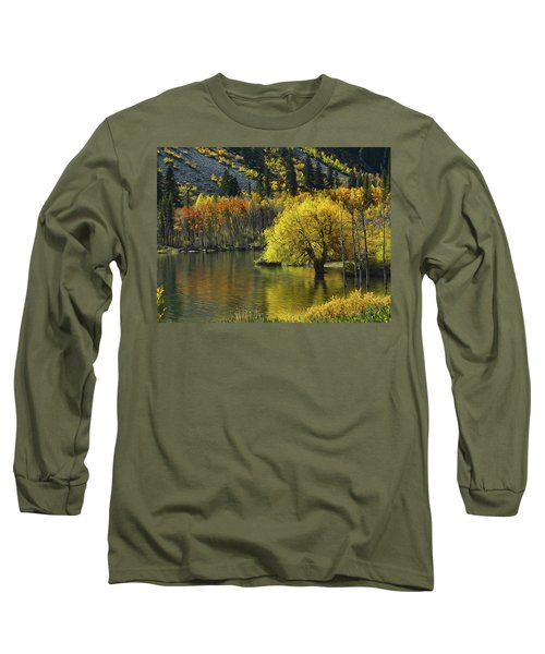 Lundy Lake Beauty Long Sleeve T-Shirt